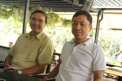 Assoc. Prof. & Dr. Nguyen Van Hiep  and Mr. Nguyen Van Long – Director of PMDC